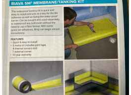 Wetroom Membrane Tanking Kit