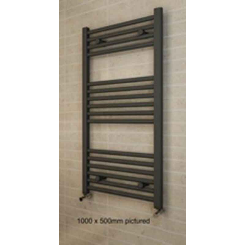 Anthracite Heated Towel Rails and Radiators
