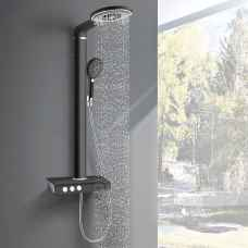 Kalahari Black panel shower