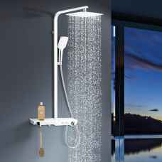 Gobi White shower panel