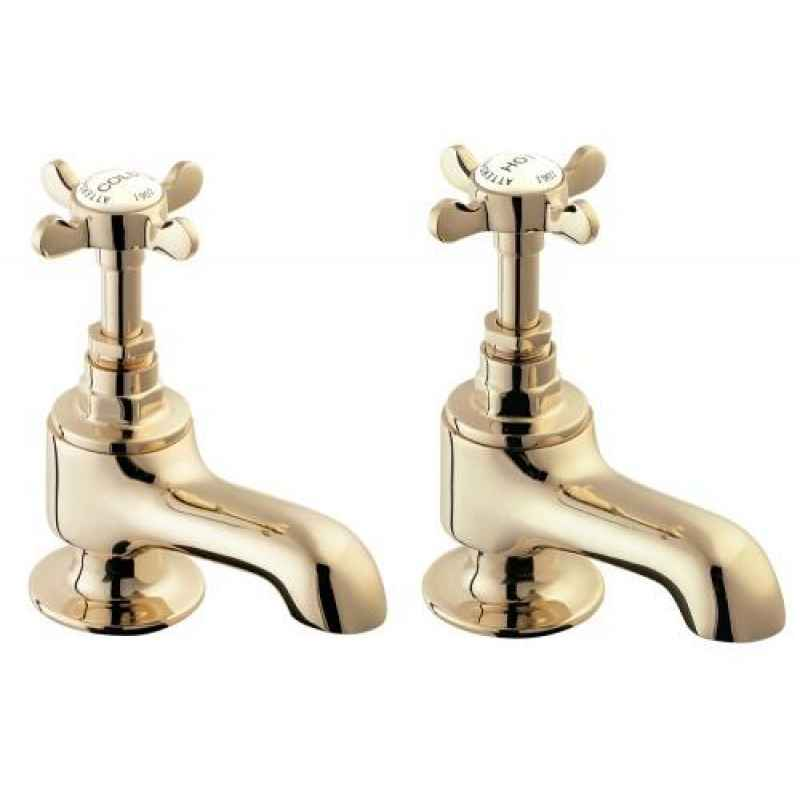 Gold Bathroom Taps