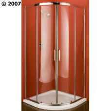 900mm quadrant shower enclosure with tray