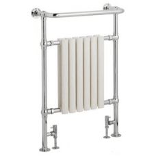 Somerset traditional heated towel rail