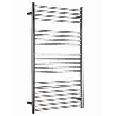Ashdown 620mm Stainless steel heated towel rail