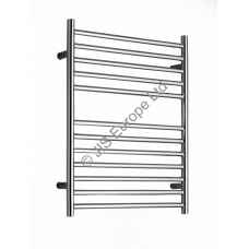 Ouse 620mm Electric stainless steel heated towel rail