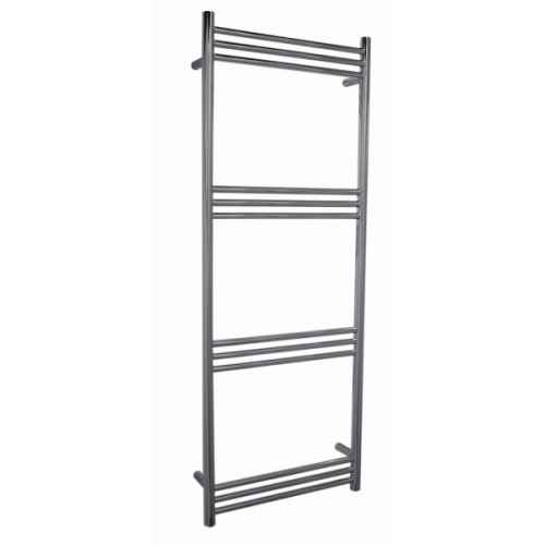 Stainless Steel Electric Radiator Towel Rail: Lewes 1400mm Electric Stainless Steel Heated Towel Rail