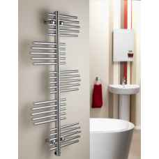Virgo heated towel rail