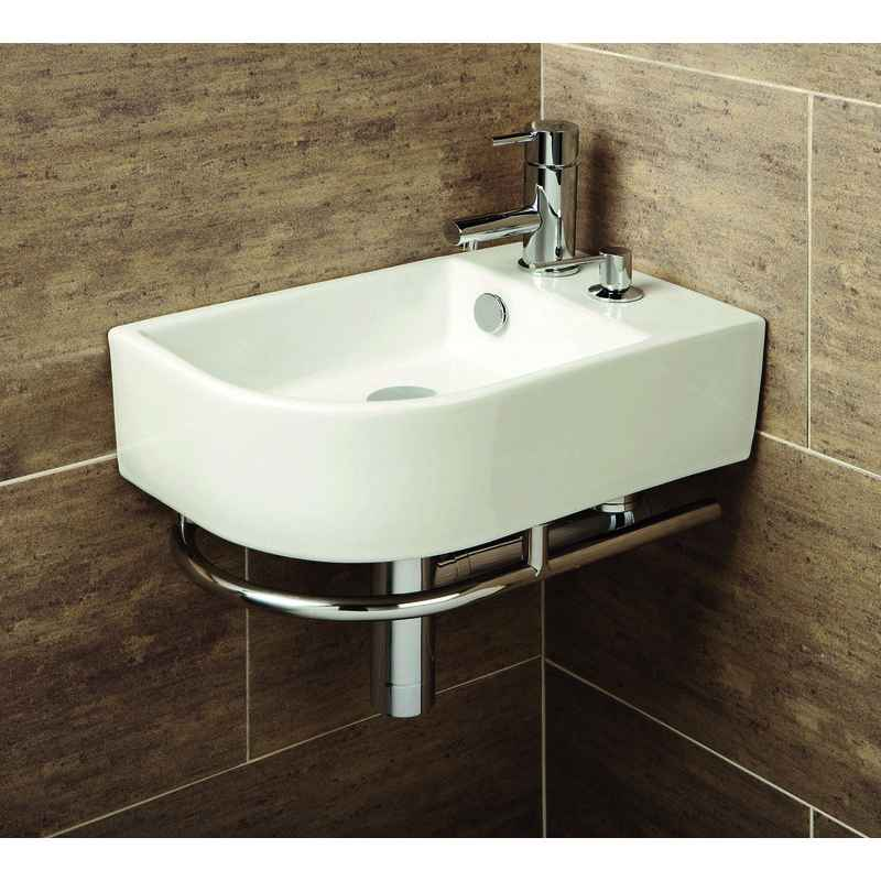 Bathroom basins and cloakroom basins