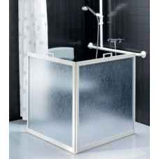 Freestanding shower screens