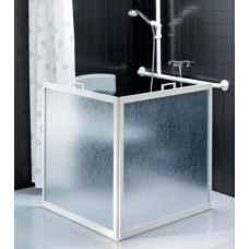 Freestanding shower screens