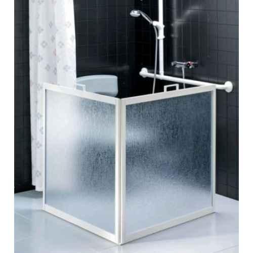 freestanding shower screens atlantes 850 bath screen bathstore